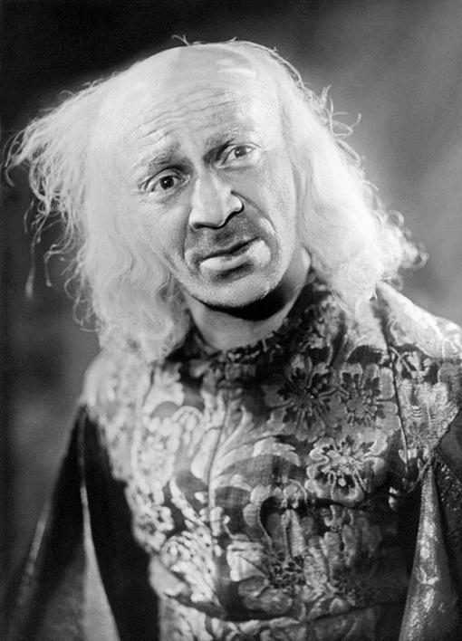 Артист Михоэлс С.М. в роли Короля Лира, 1946 год