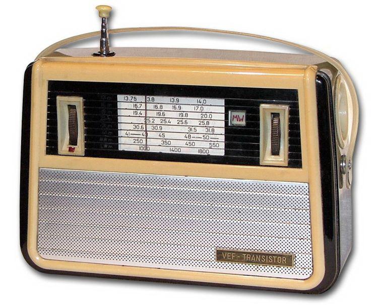 vef transistor raad