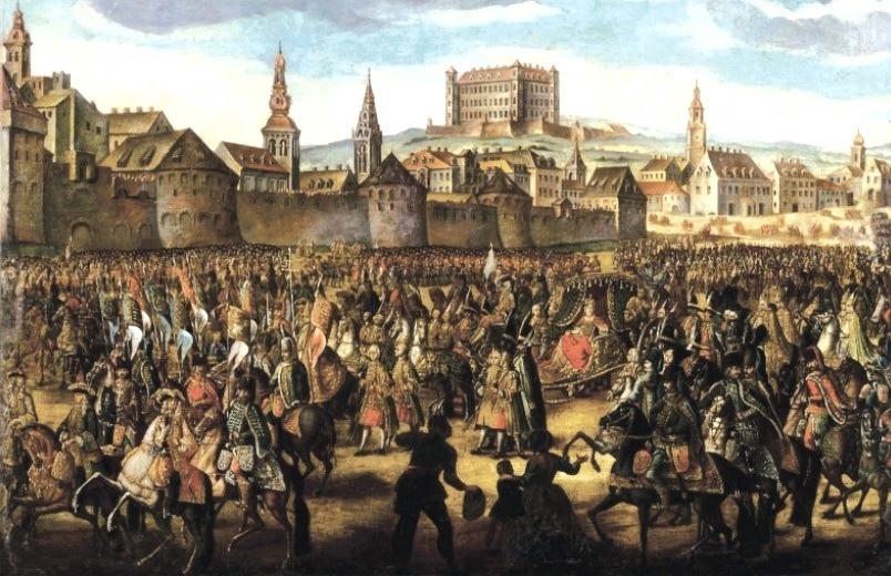 Maria-Theresa-coronation-procession-in-Bratislava