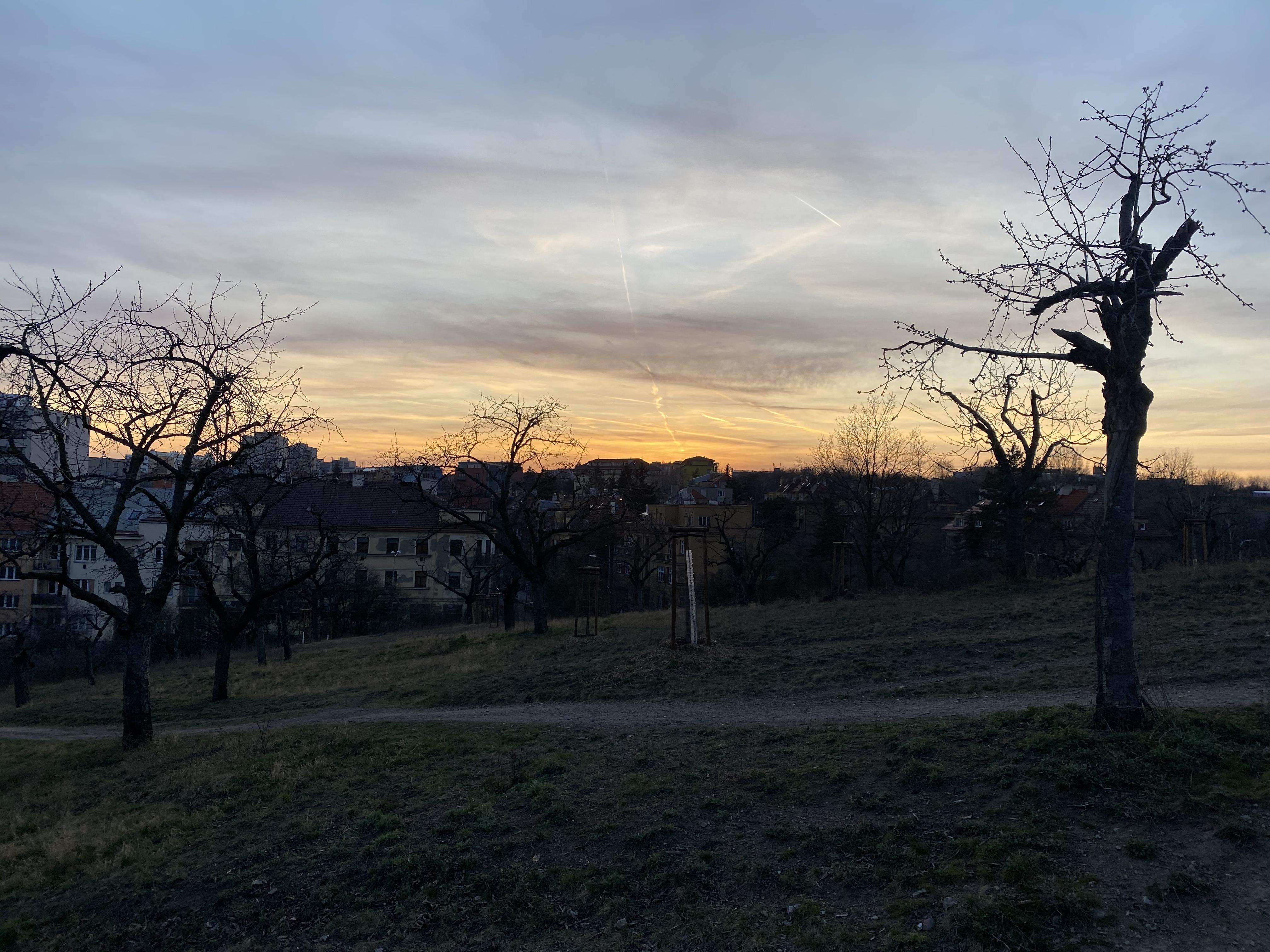 Park in Letna